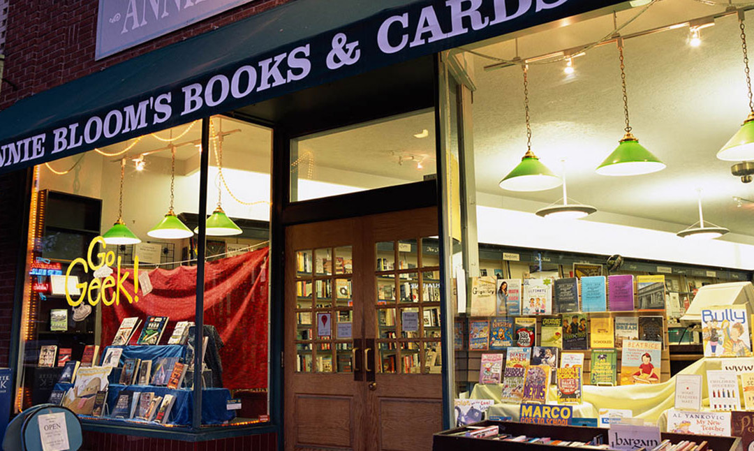 Talking Mystery at Annie Bloom's Books