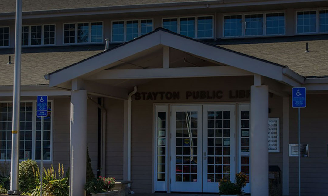 Cameron to Speak at Stayton Library