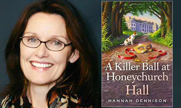 Friends of Mystery Welcomes Hannah Dennison