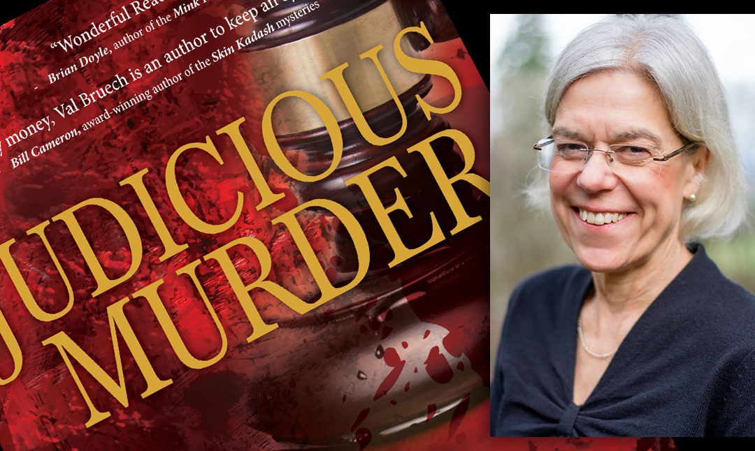Judicious Murder, debut by Val Bruech, launches December 5th
