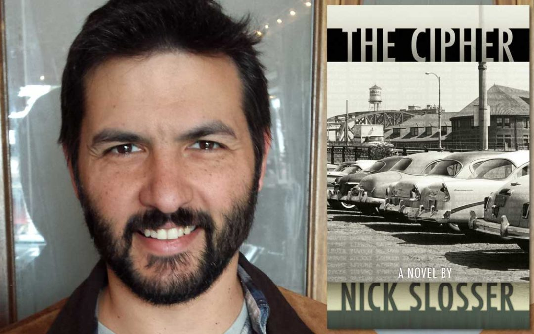 Friends of Mystery Welcomes Nick Slosser