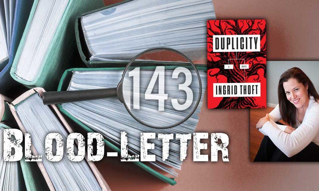 Blood-Letter #143