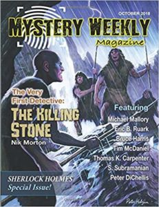 Mystery Weekly, October 2018