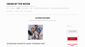 Crime by the Book Home Page