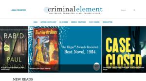 Criminal Element Home Page