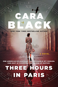 Book Cover: Three Hours in Paris by Cara Black