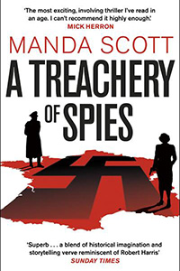 Book Cover: A Treachery of Spies by Manda Scott