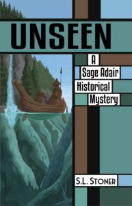 Book cover: UNSEEN, by S.L. Stoner