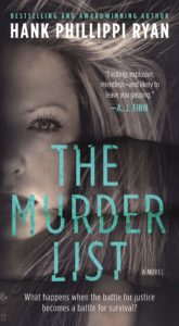 Book Cover: The Murder List by Hank Phillippi Ryan
