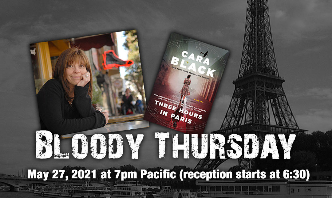 Cara Black Joins Us for Bloody Thursday on May 27, 2021